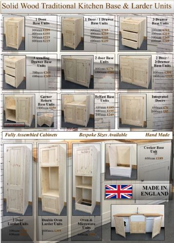 Made To Measure - Pine Kitchens